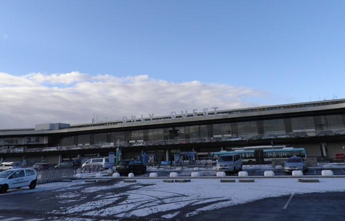 Aeropuerto de Orly cinco días en París