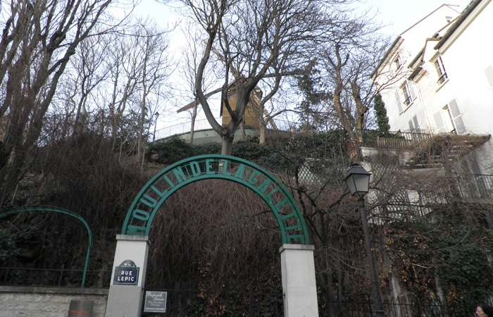 Moulin de la Galette de París qué ver en Montmartre