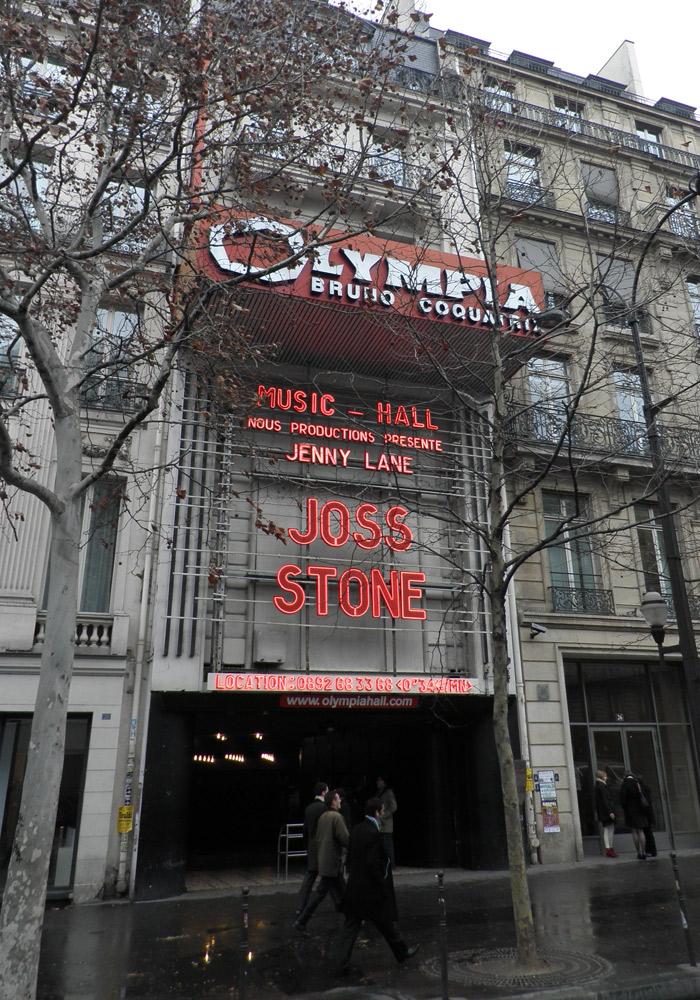 Teatro Olympia de París Puente del Alma