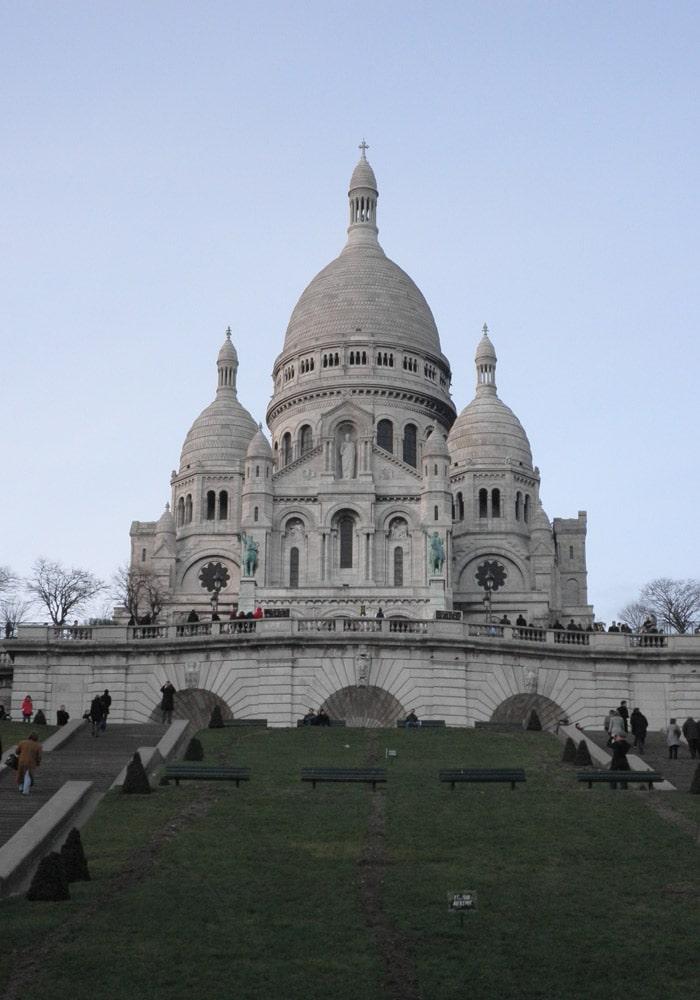 Basílica del Sagrado Corazón de París qué ver en Montmartre