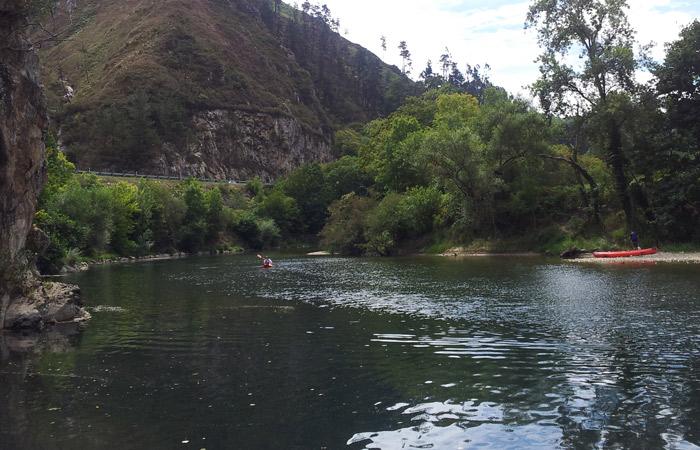 Vista del río Sella turismo en Asturias