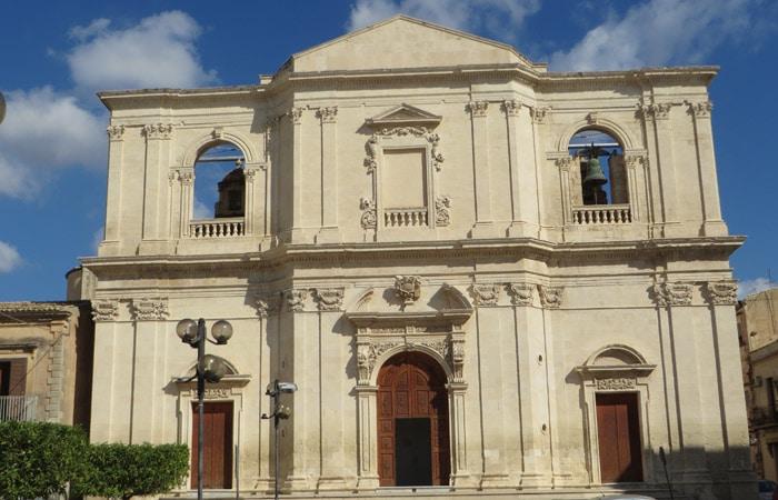 Chiesa del SS Crocifisso de Noto Sicilia