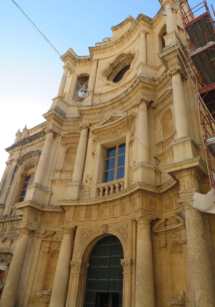 Chiesa di San Carlo al Corso de Noto Sicilia