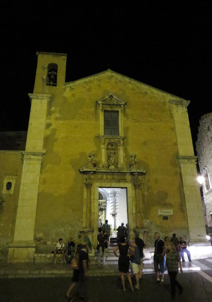 Chiesa di Santa Caterina qué ver en Taormina