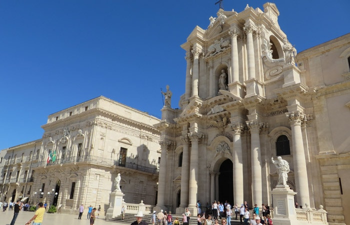 Duomo de Ortigia turismo en Siracusa