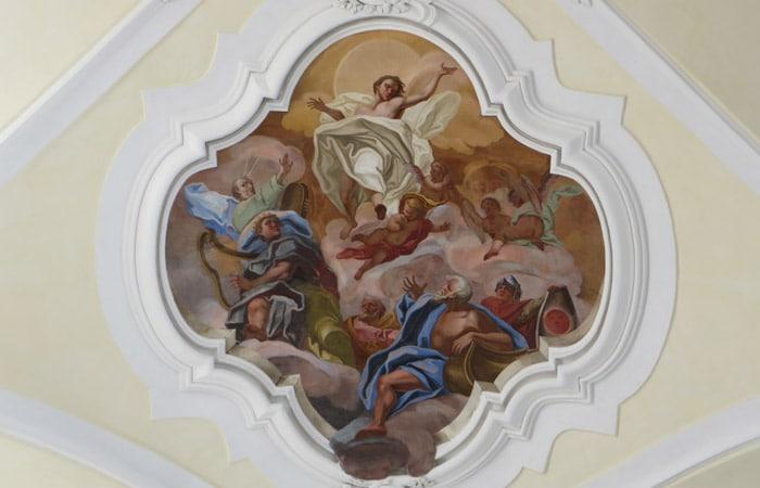 Fresco en la Chiesa di San Carlo al Corso de Noto Sicilia