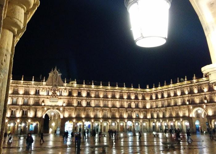 Plaza Mayor con su Pabellón Real al fondo que ver en Salamanca