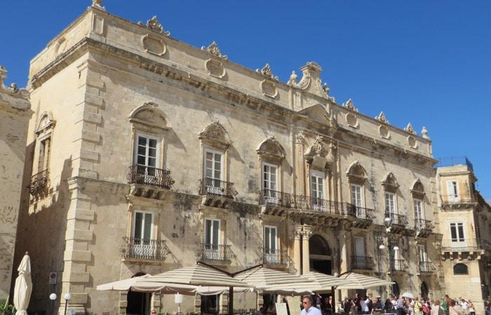 Palazzo Beneventano del Bosco en Ortigia turismo en Siracusa