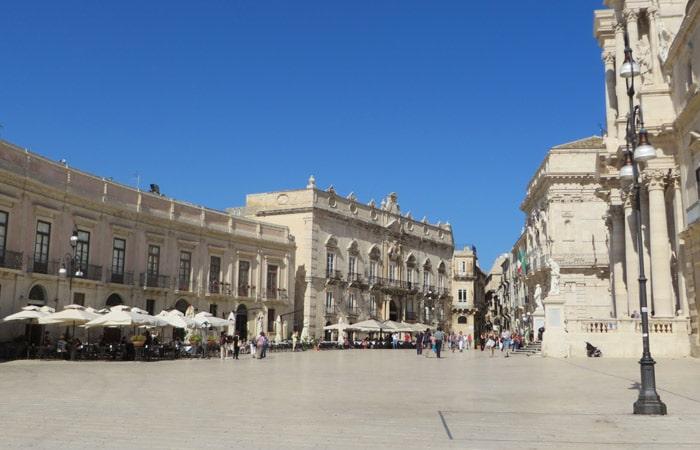 Piazza del Duomo de Ortigia turismo en Siracusa