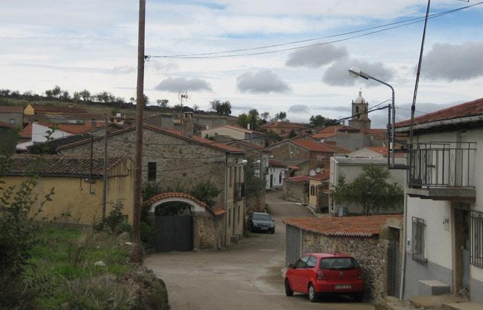 Vista de la localidad de Puerto Seguro Puente de los Franceses