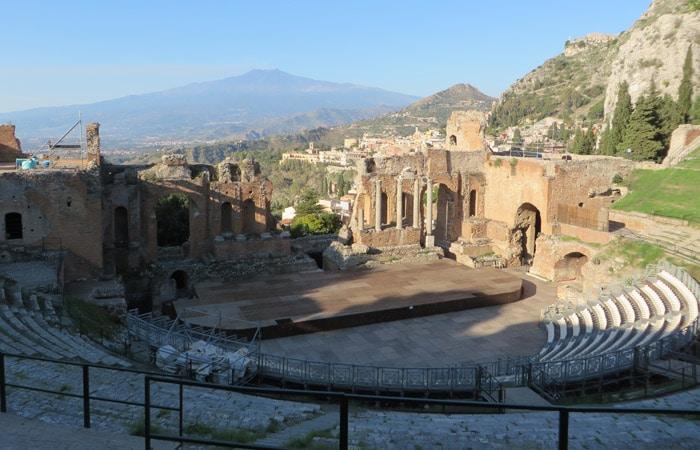 Teatro Griego de Taormina Sicilia