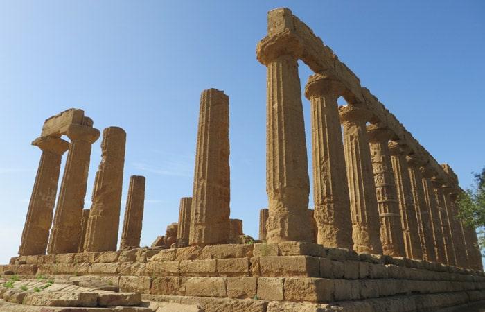Templo de Hera Valle de los Tempos Agrigento