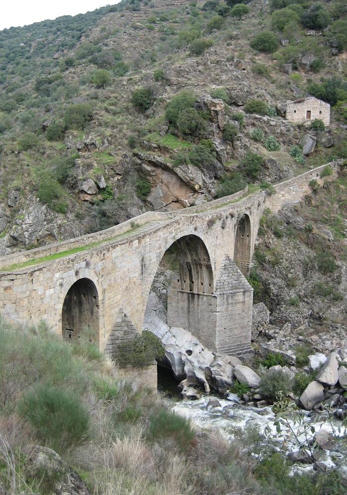 Vista del Puente de los Franceses