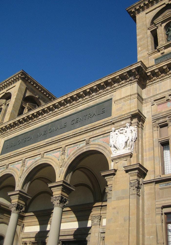 Biblioteca Nazionale Centrale qué visitar en Florencia