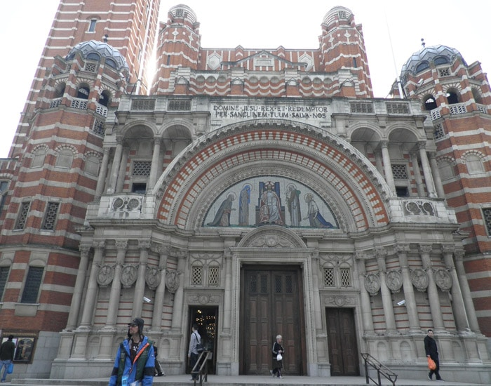 Catedral católica de Westminster ruta por Londres