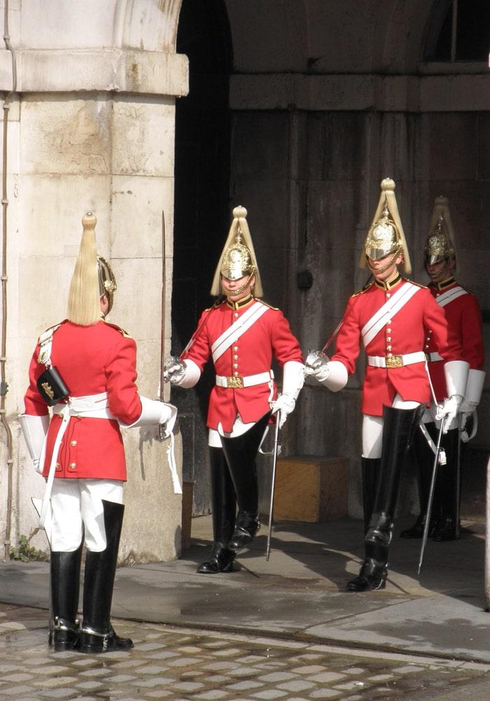 Cambio de guardia en Horse Guards Parade