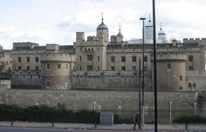 Fortaleza de la Torre de Londres tres días en Londres