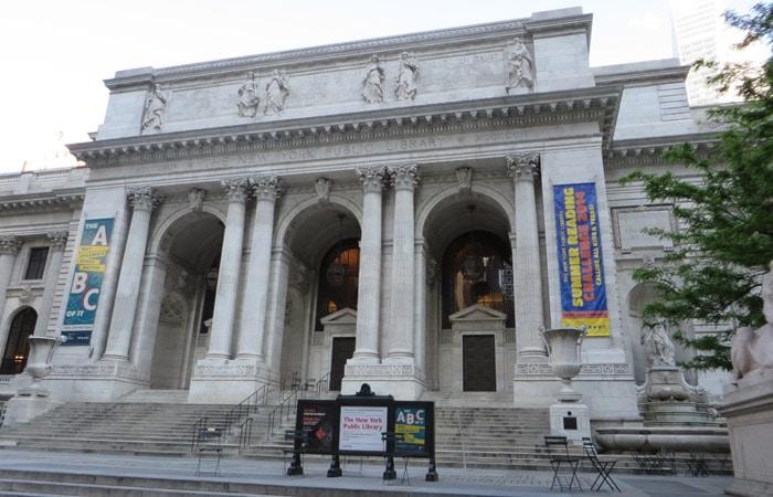 Biblioteca Pública de Nueva York ferry a Staten Island