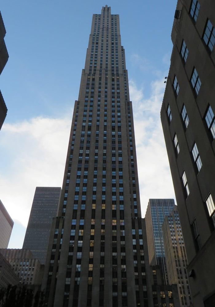 Rockefeller Center contrastes de Nueva York