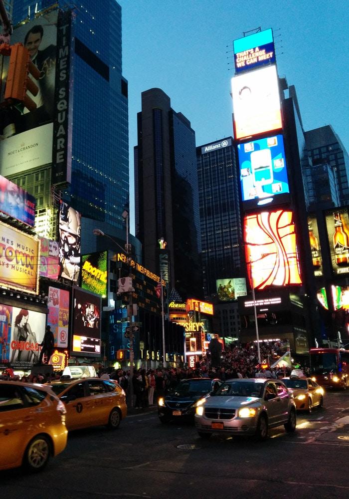 Times Square Nueva York en una semana