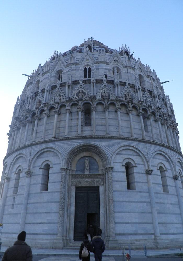Baptisterio de San Giovanni de Pisa