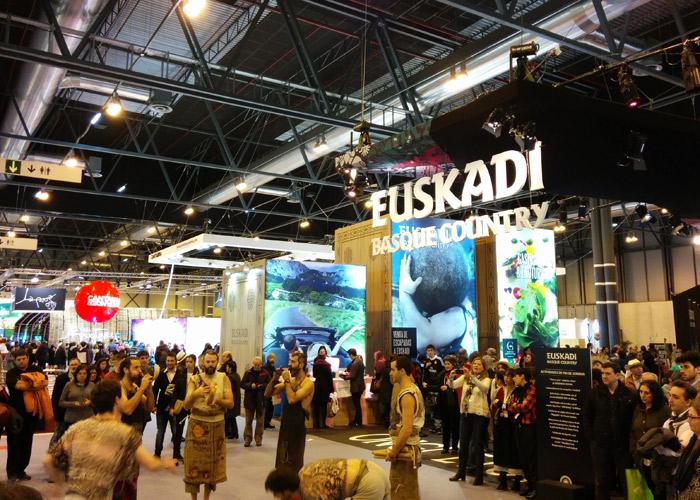 Estand de Euskadi feria Fitur