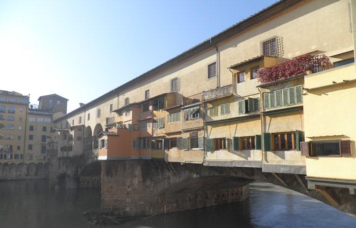 Ponte Vecchio qué visitar en Florencia