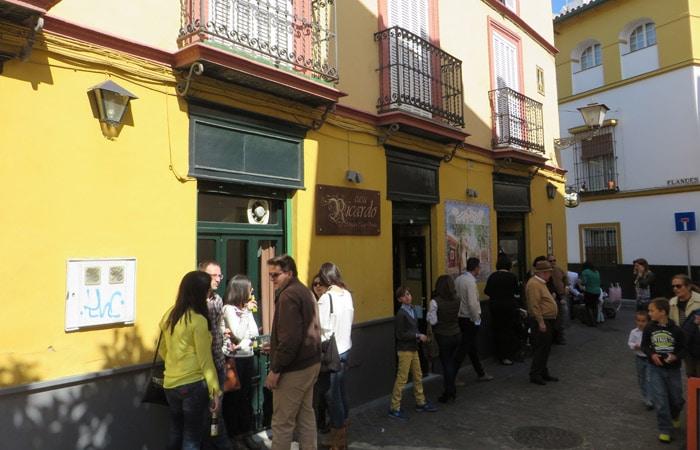 Casa Ricardo tapeo por Sevilla