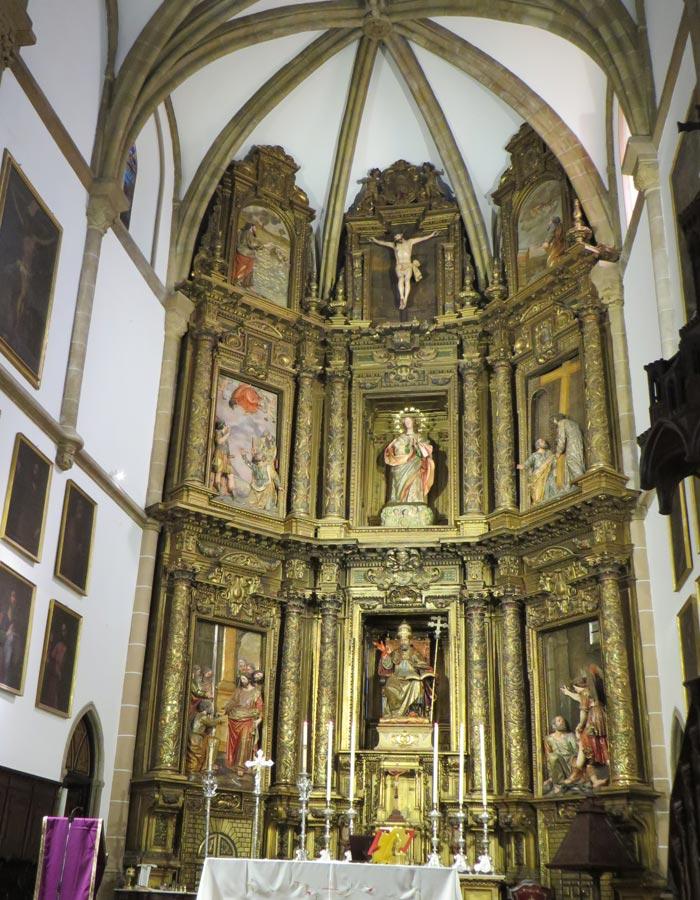 Retablo de la iglesia de San Pedro Sevilla