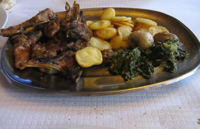 Cabrito restaurante El Dorado Foios Portugal