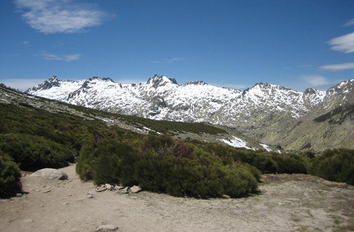 Loma de los Barrerones Laguna Grande de Gredos
