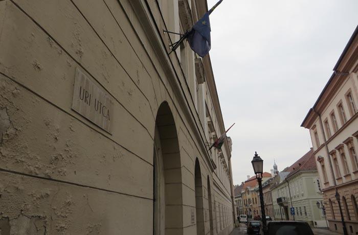Calle Úri utca Buda