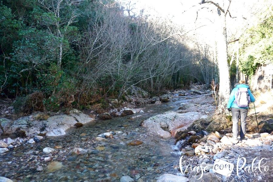 Río Batuecas al inicio de la ruta cascada del chorro