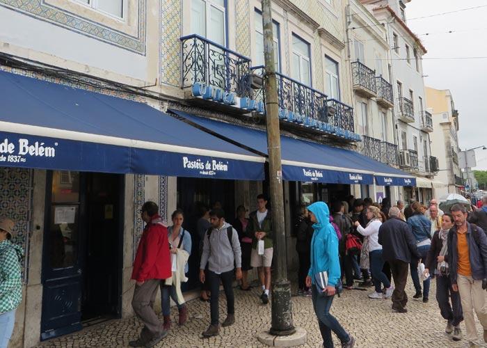Casa Pastéis de Belém comer en Lisboa