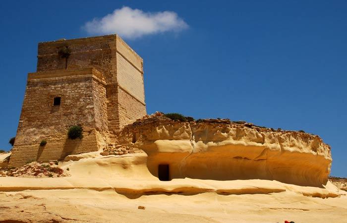Castillo de Gozo qué hacer en Malta