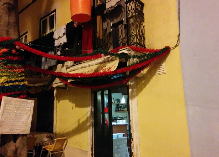 Floresta de Santana comer en Lisboa