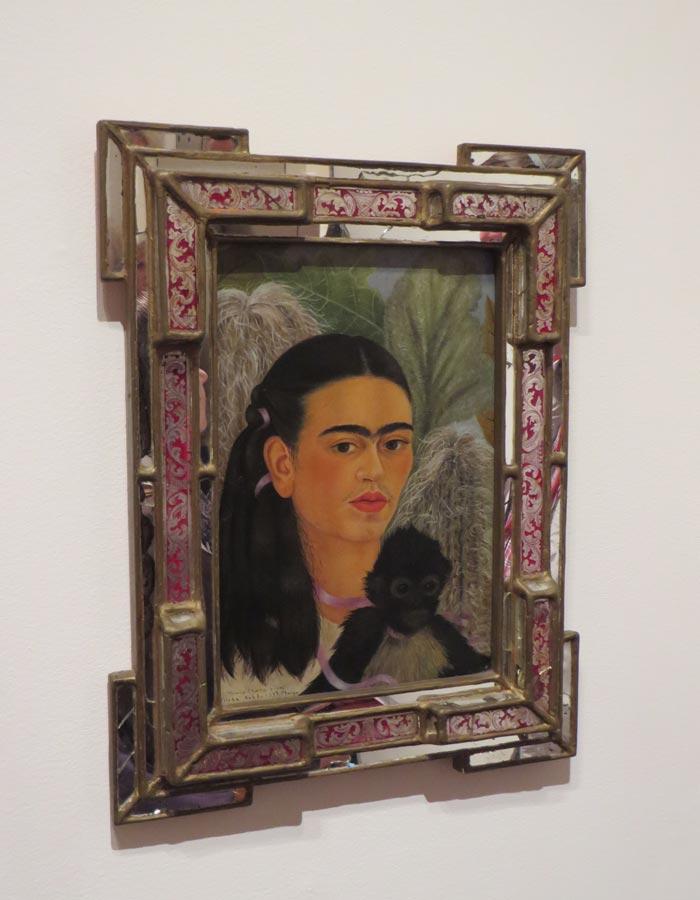 """""""Fulang-Chang and I"""" de Frida Kahlo en el MoMA"""