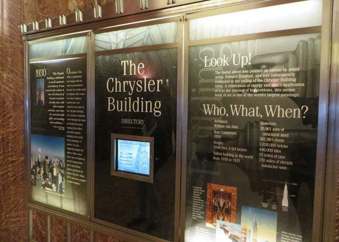 Hall del Chrysler Building