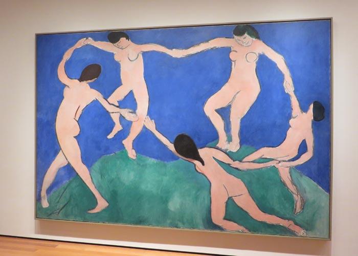 """""""La danza"""" de Matisse en el MoMA"""
