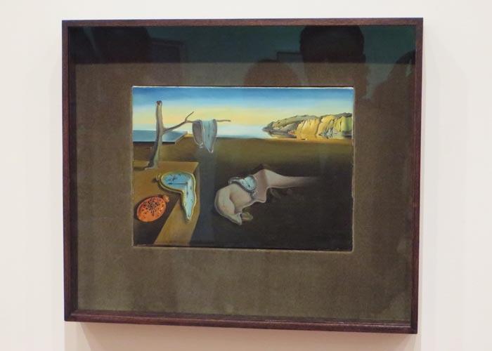 """""""La persistencia de la memoria"""" de Dalí en el MoMA"""