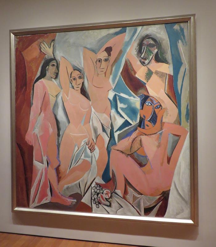 """""""Las señoritas de Avignon"""" de Picasso en el MoMA"""