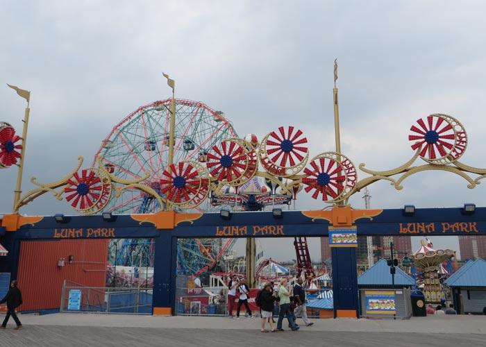 Parque de atracciones Luna Park visitar Coney Island