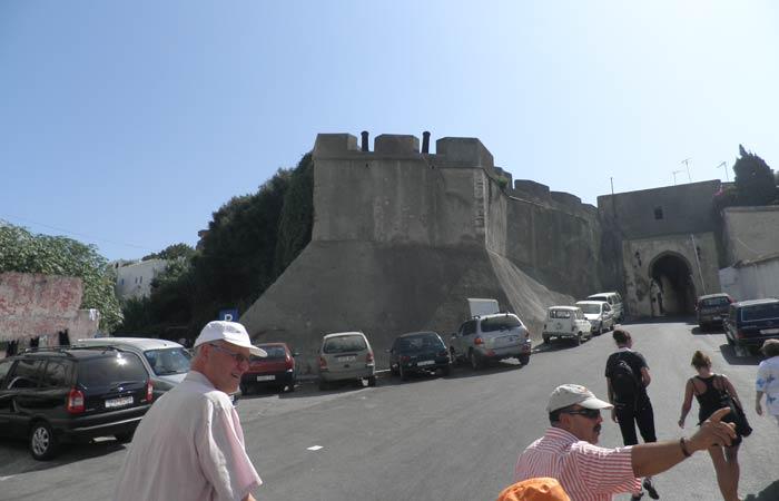 Murallas de la Alcazaba un día en Tánger
