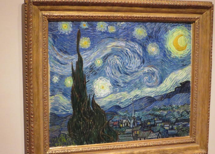 """""""Noche estrellada"""" de Van Gogh en el MoMA"""