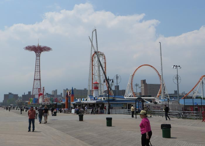 Paseo marítimo visitar Coney Island