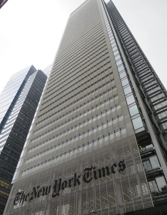 Rascacielos del New York Times