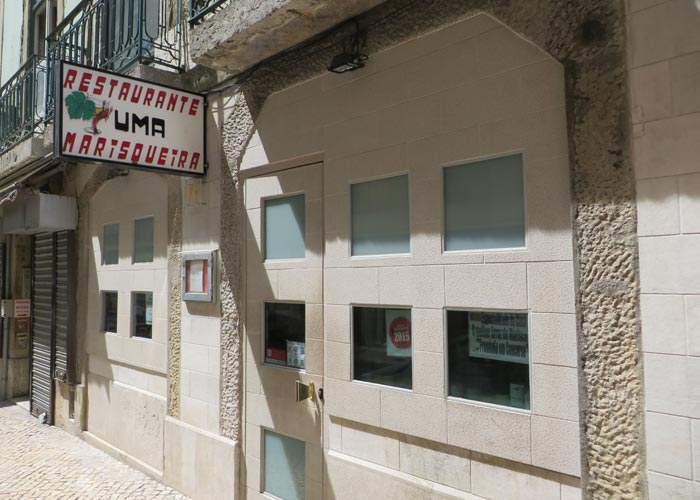 Restaurante Uma comer en Lisboa