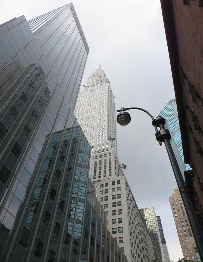 Vista del Chrysler Building