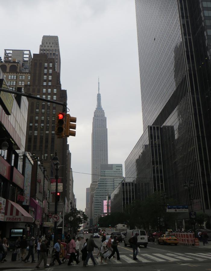 Vista del Empire State Building