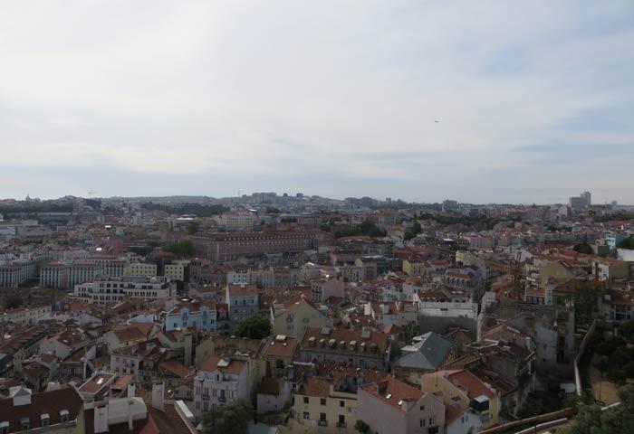 Vistas desde el Mirador de Gracia miradores de Lisboa